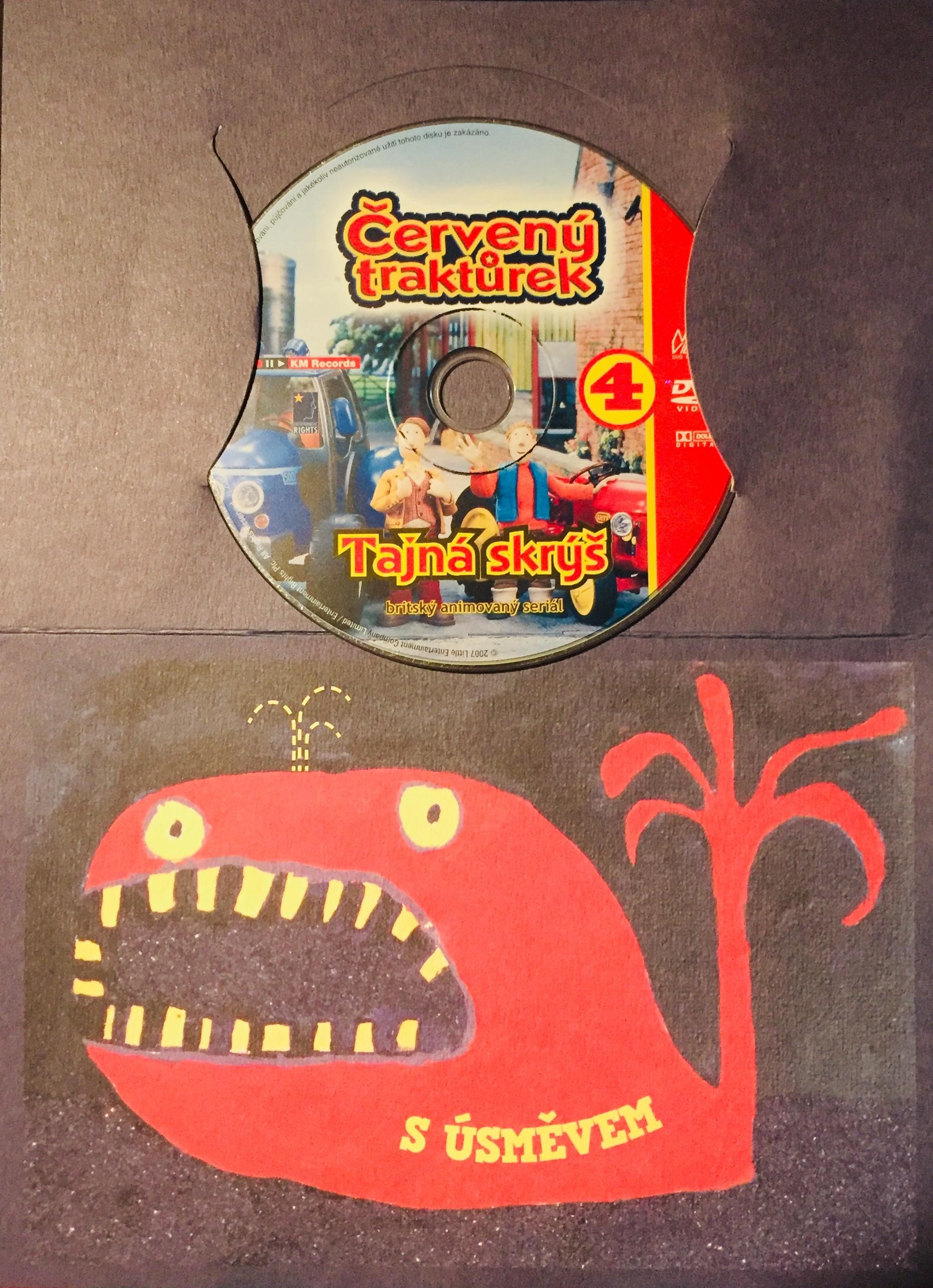 Červený traktůrek 4 - Tajná skrýš - DVD /dárkový obal/