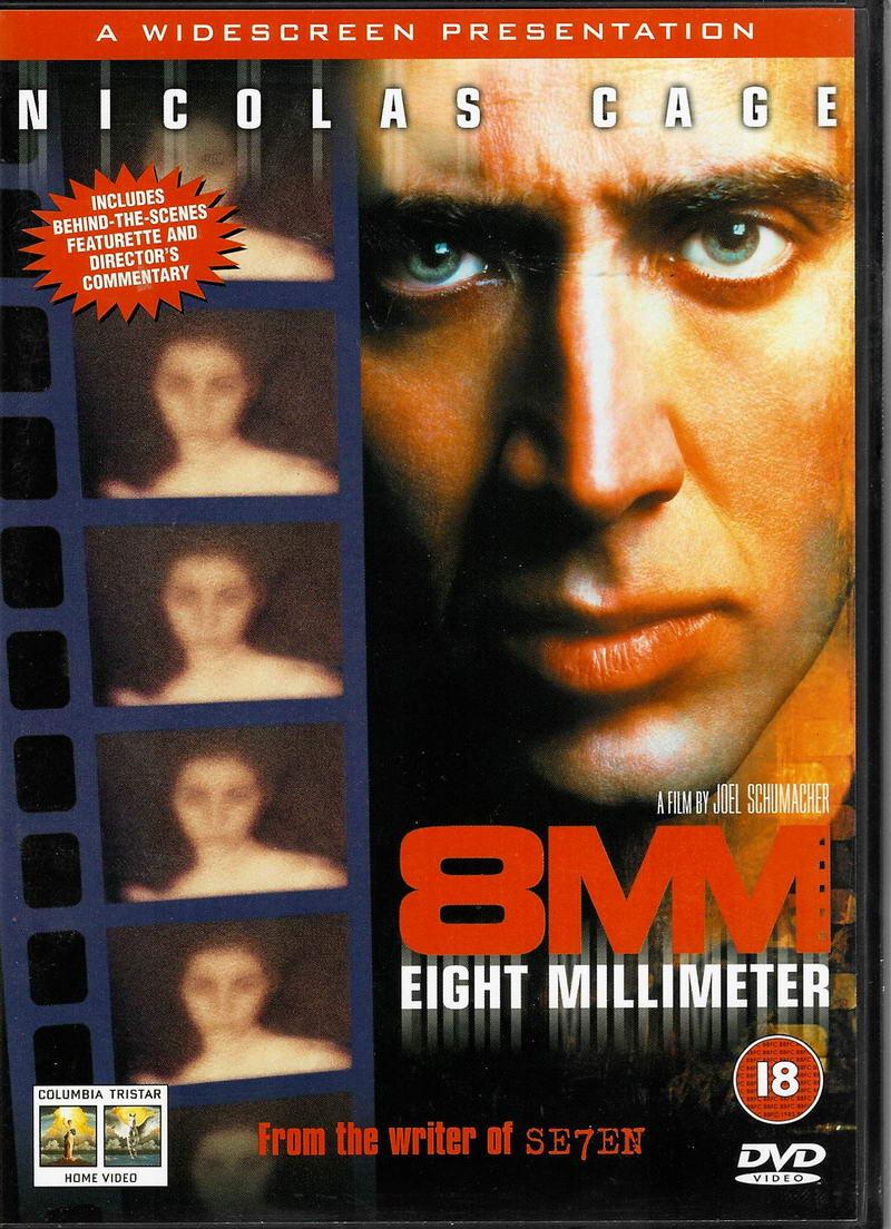 8MM - DVD plast