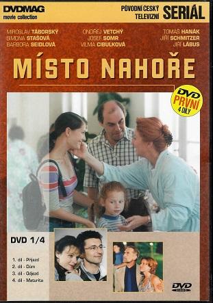 Místo nahoře 1 : 4 díly ( plast ) DVD