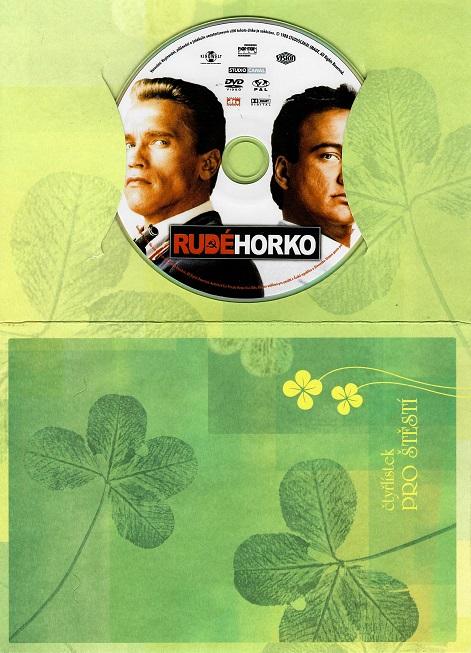 Rudé horko ( dárkový papír obal ) DVD