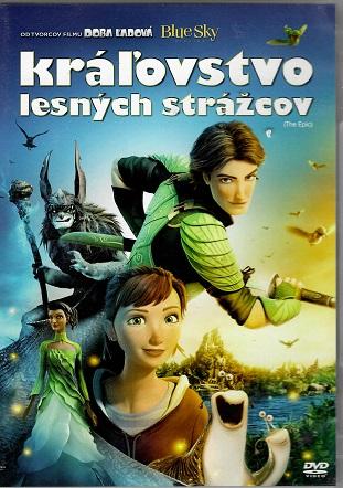 Královstvo lesných strážcov / Království lesních strážců ( plast ) DVD