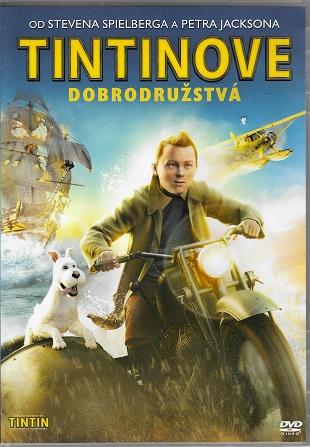 Tintinove dobrodružstvá / Tintinova dobrodružství ( plast ) DVD