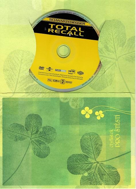 Total Recall ( dárkový papír obal ) DVD