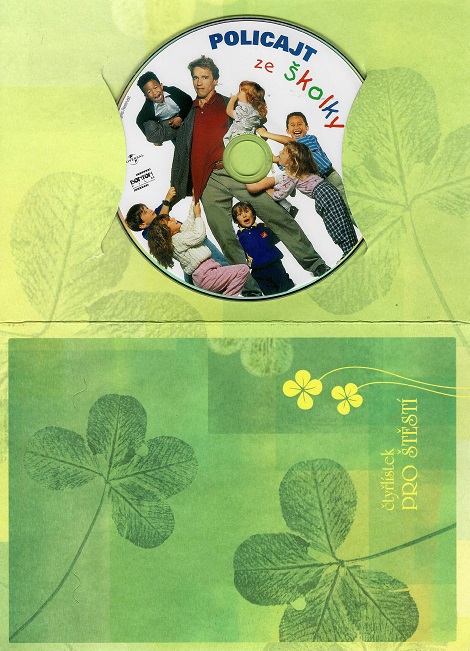 Policajt ze školky ( dárkový papír obal ) DVD
