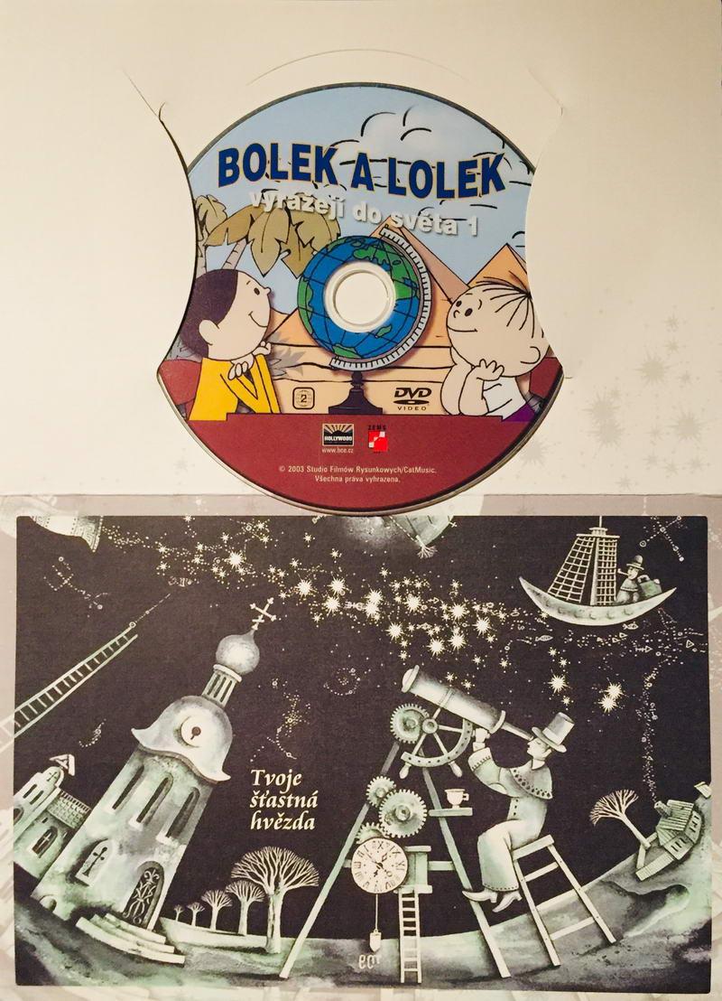 Bolek a Lolek vyrážejí do světa 1 - DVD /dárkový obal/