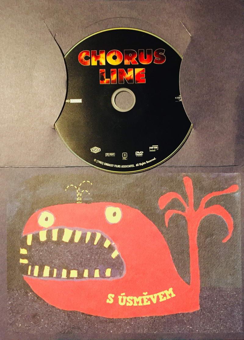 Chorus Line - DVD /dárkový obal/