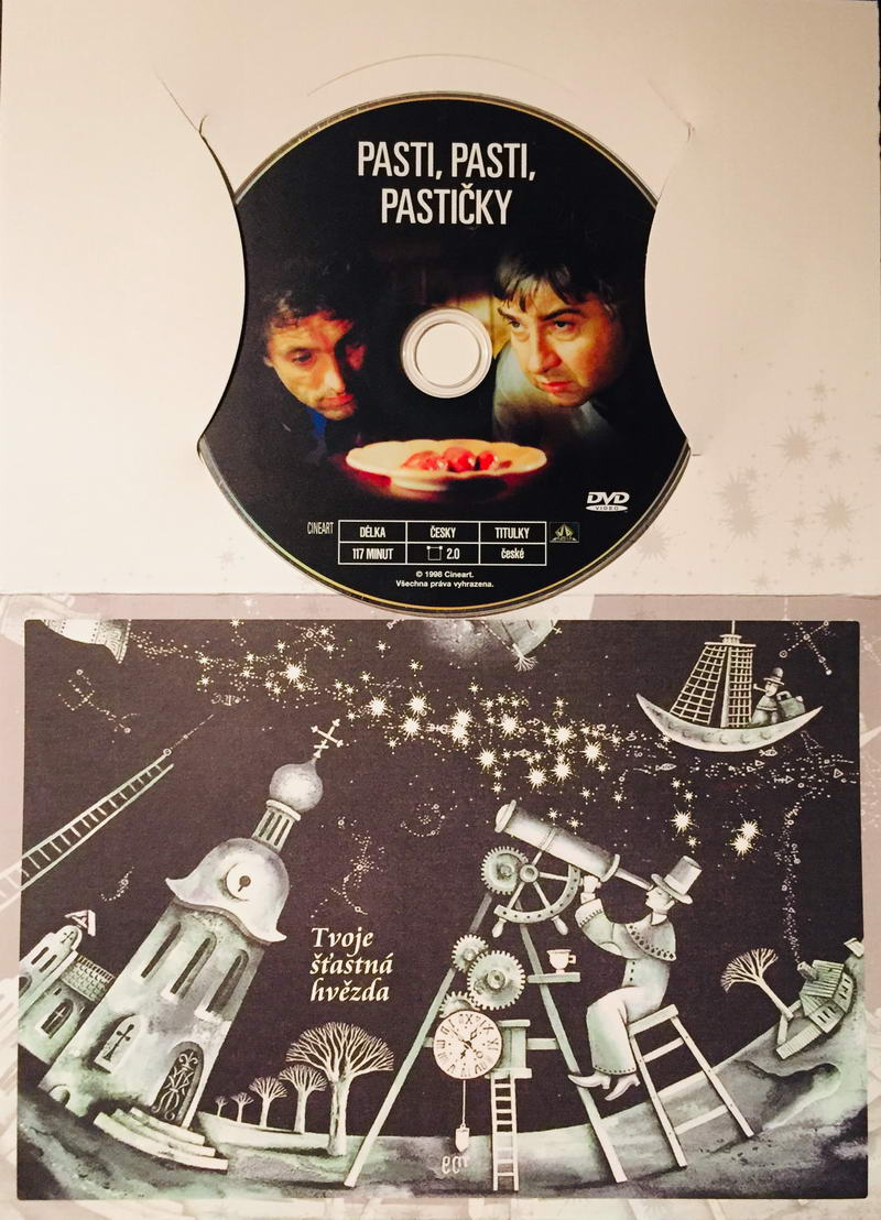 Pasti, pasti, pastičky - DVD /dárkový obal/