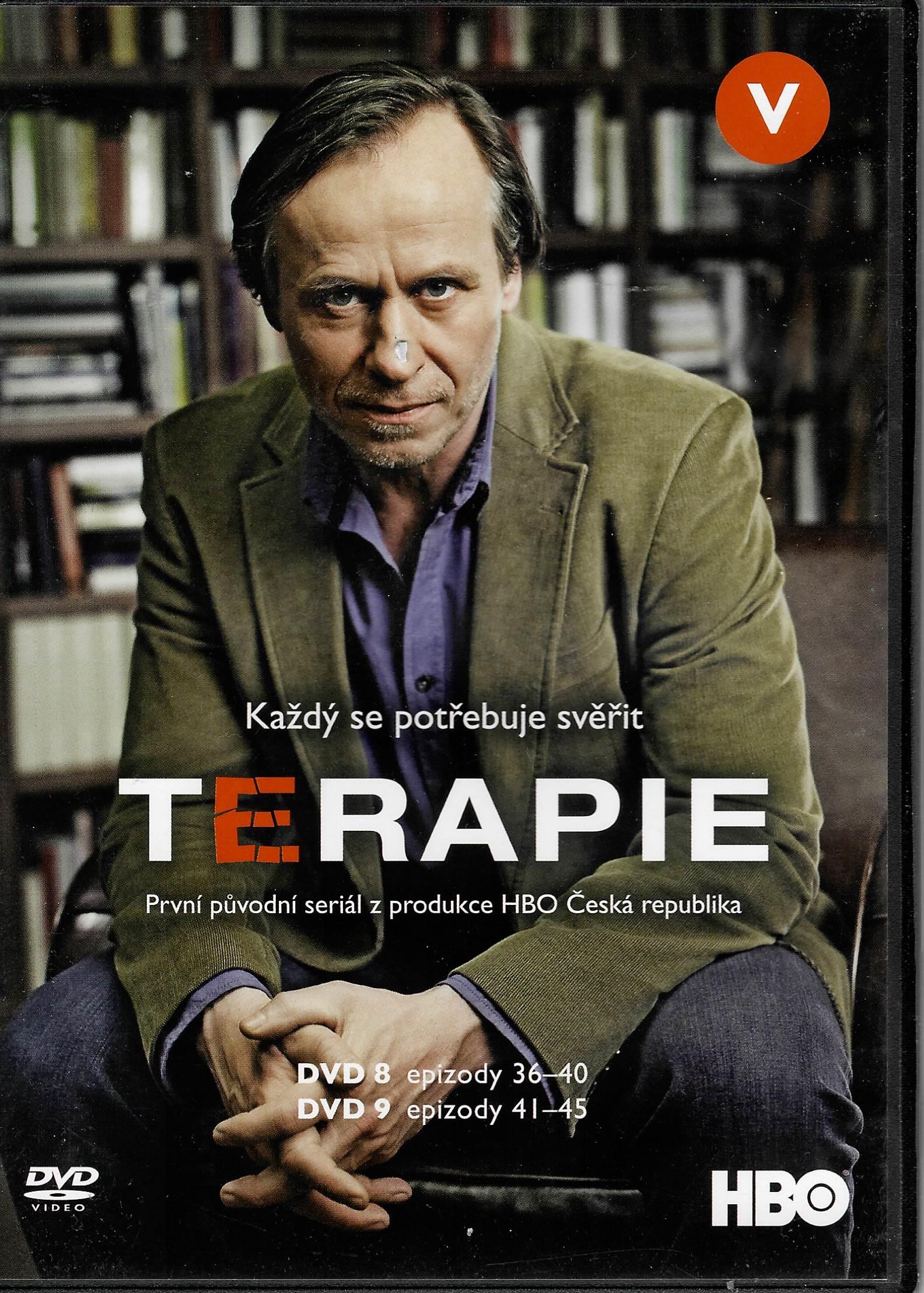 Terapie 1. série – (disk 8. - 9.) -  2 DVD plast
