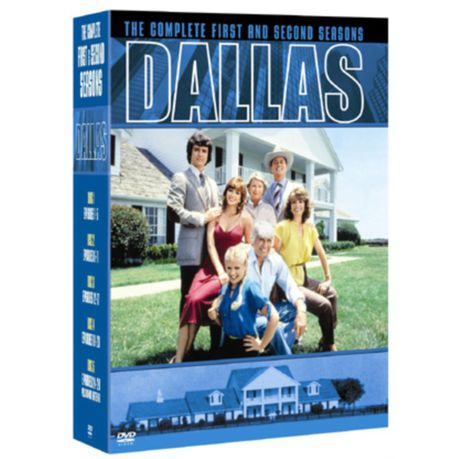 Dallas - The complete first and second seasond - DVD bazarové zboží