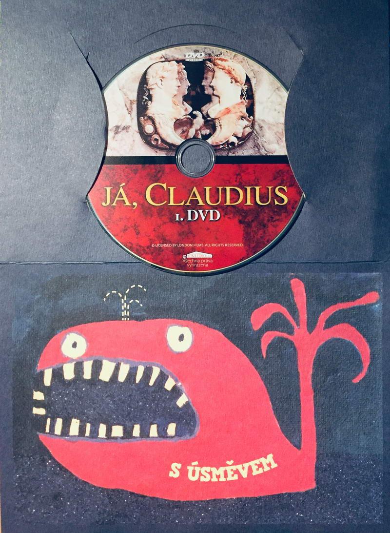 Já, Claudius 1 - DVD /dárkový obal/
