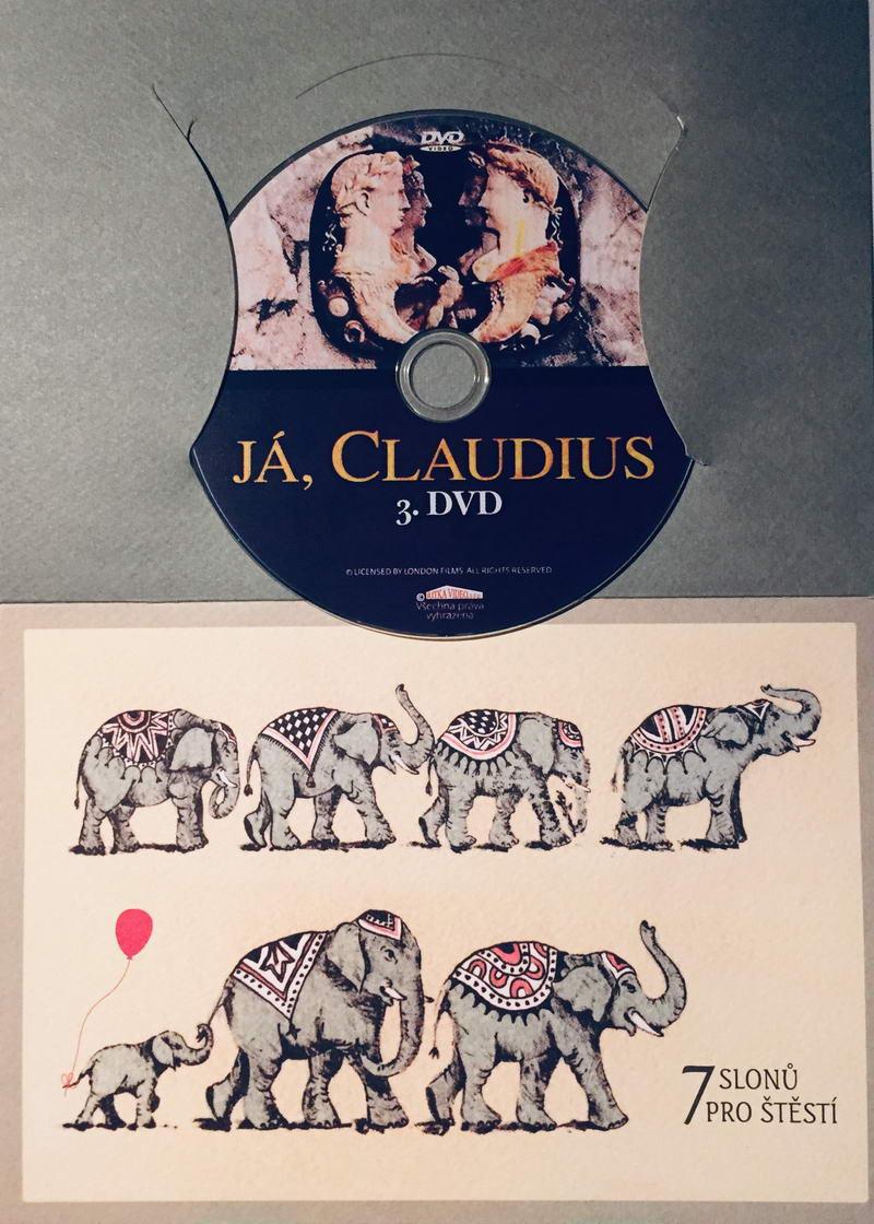 Já, Claudius 3 - DVD /dárkový obal/