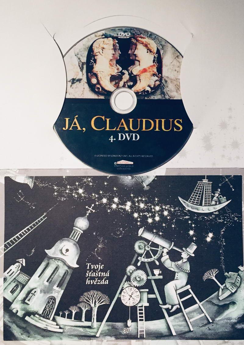 Já, Claudius 4 - DVD /dárkový obal/