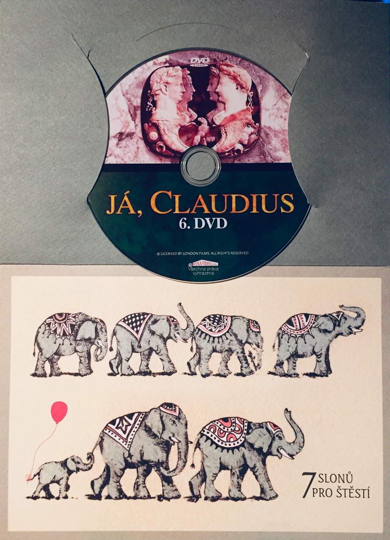 Já, Claudius 6 - DVD /dárkový obal/
