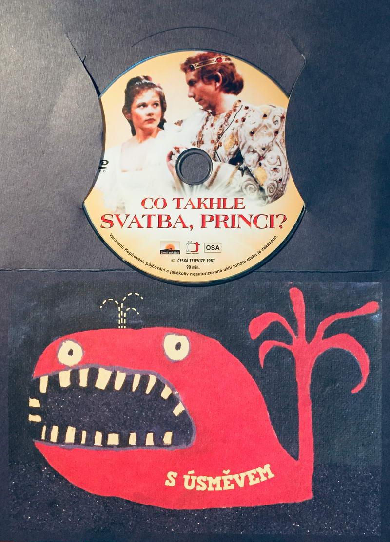 Co takhle svatba, princi? - DVD /dárkový obal/
