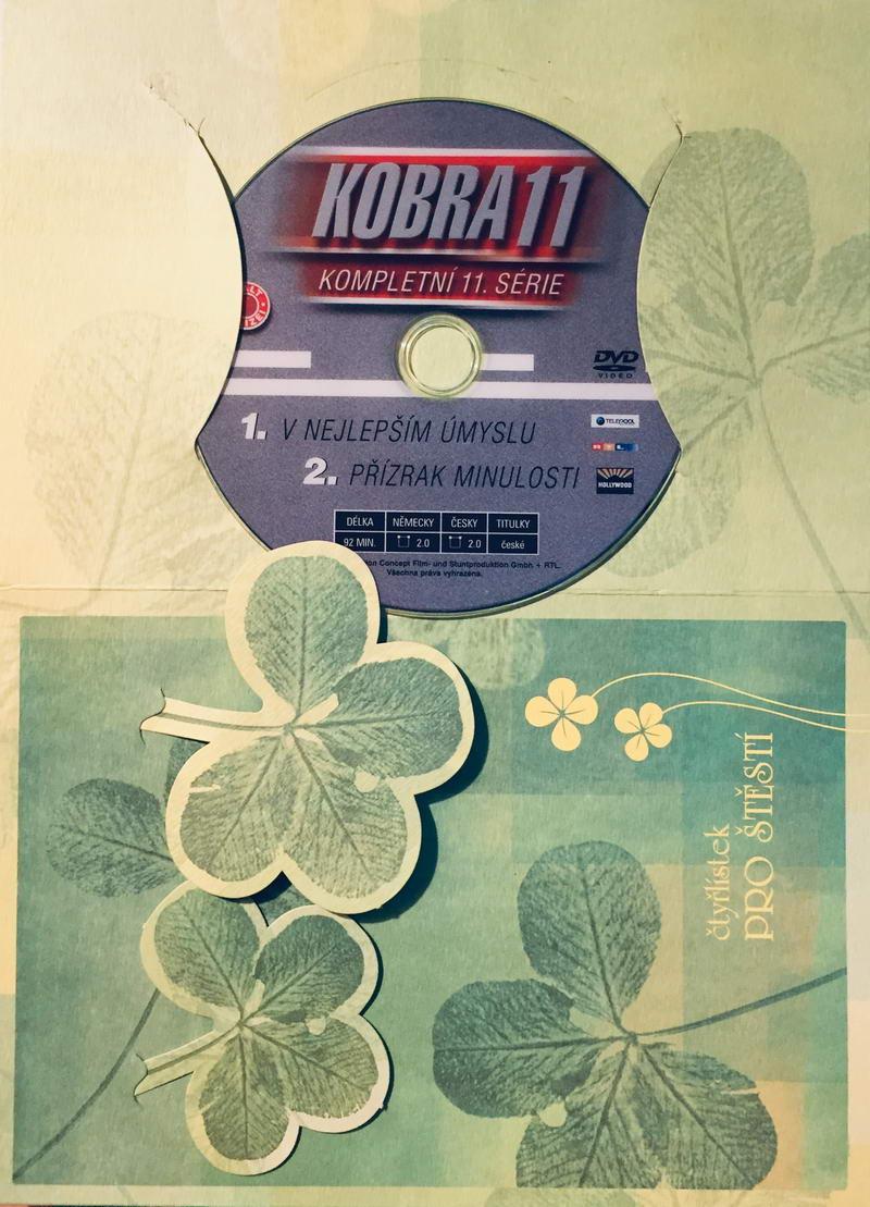 Kobra 11 - 1, 2. díl - DVD /dárkový obal/