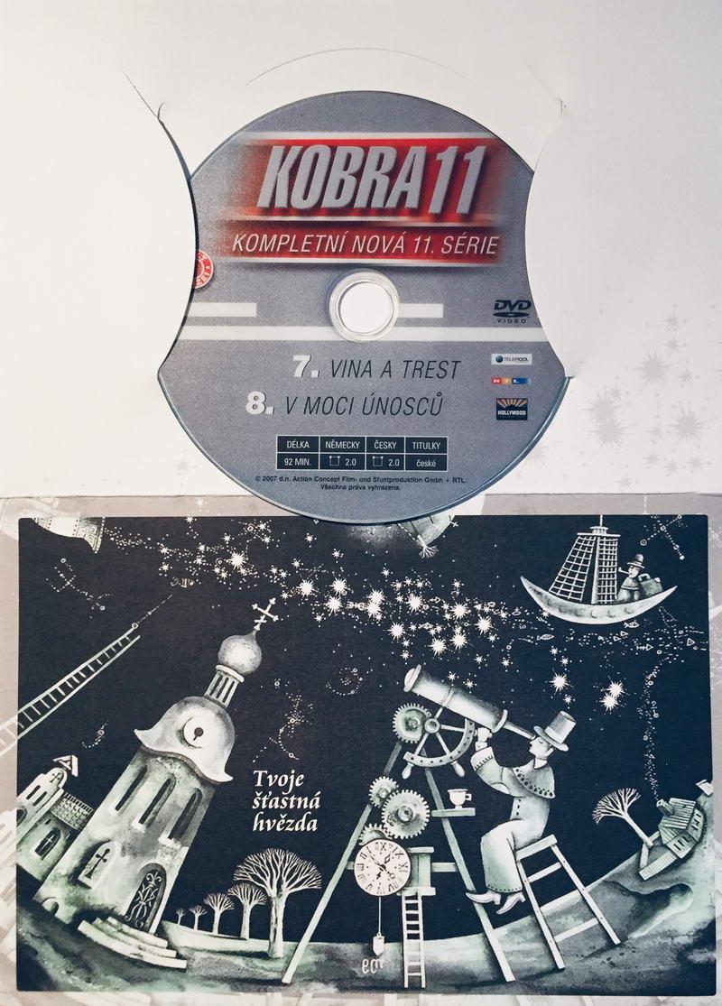 Kobra 11 - 7, 8. díl - DVD /dárkový obal/