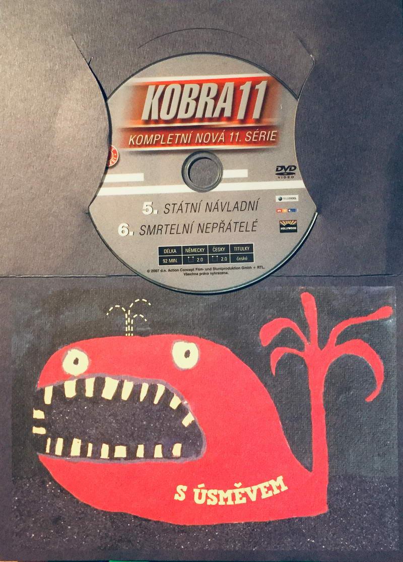 Kobra 11 - 5, 6. díl - DVD /dárkový obal/