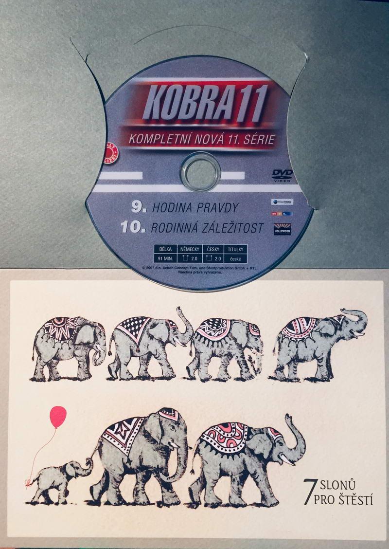 Kobra 11 - 9, 10. díl - DVD /dárkový obal/