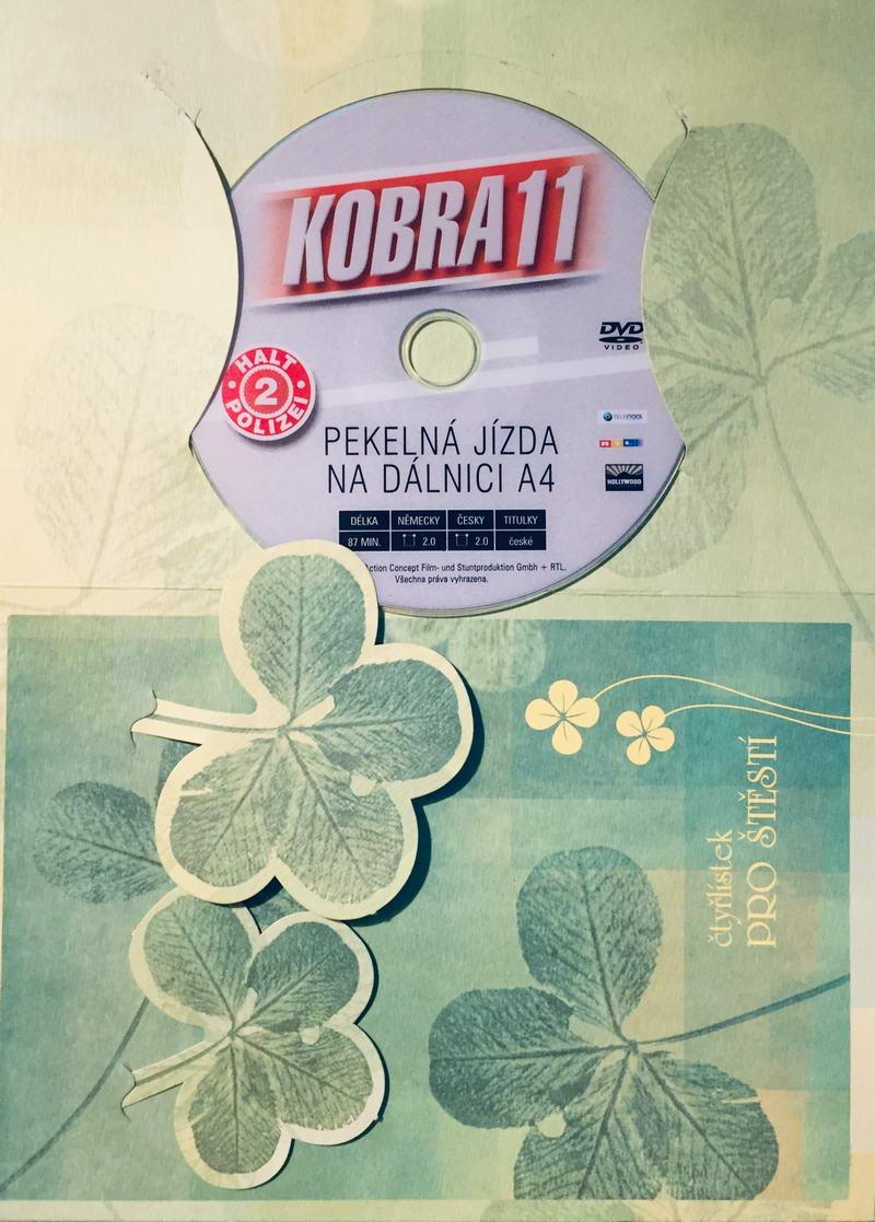 Kobra 11 - Pekelná jízda na dálnici - DVD /dárkový obal/