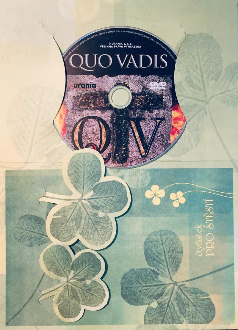 Quo vadis - DVD /dárkový obal/