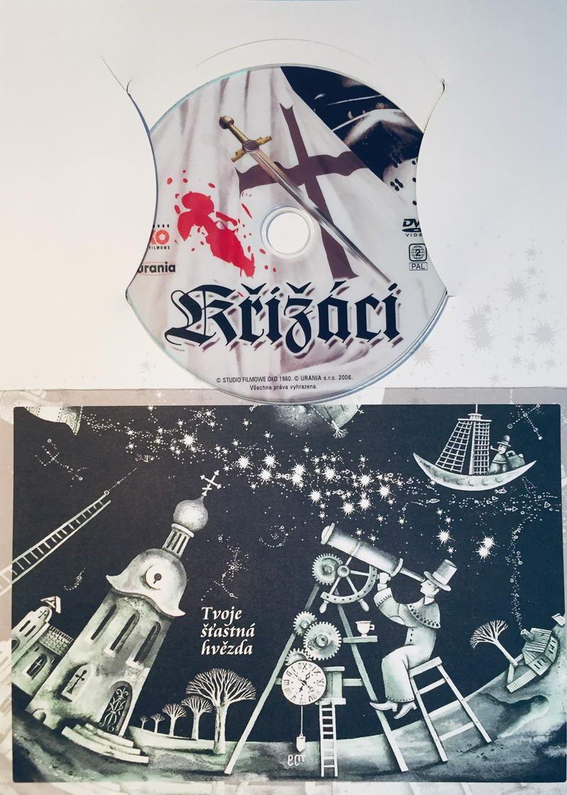 Křižáci - DVD /dárkový obal/