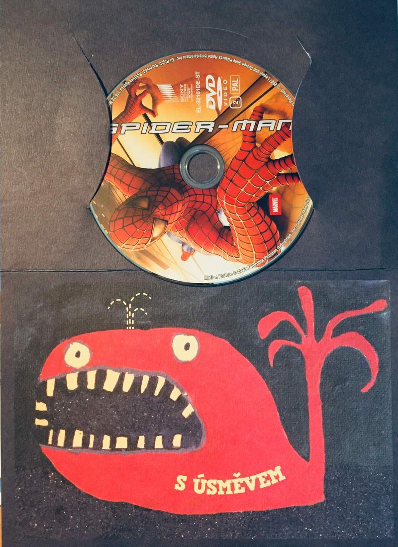Spider-man - DVD /dárkový obal/