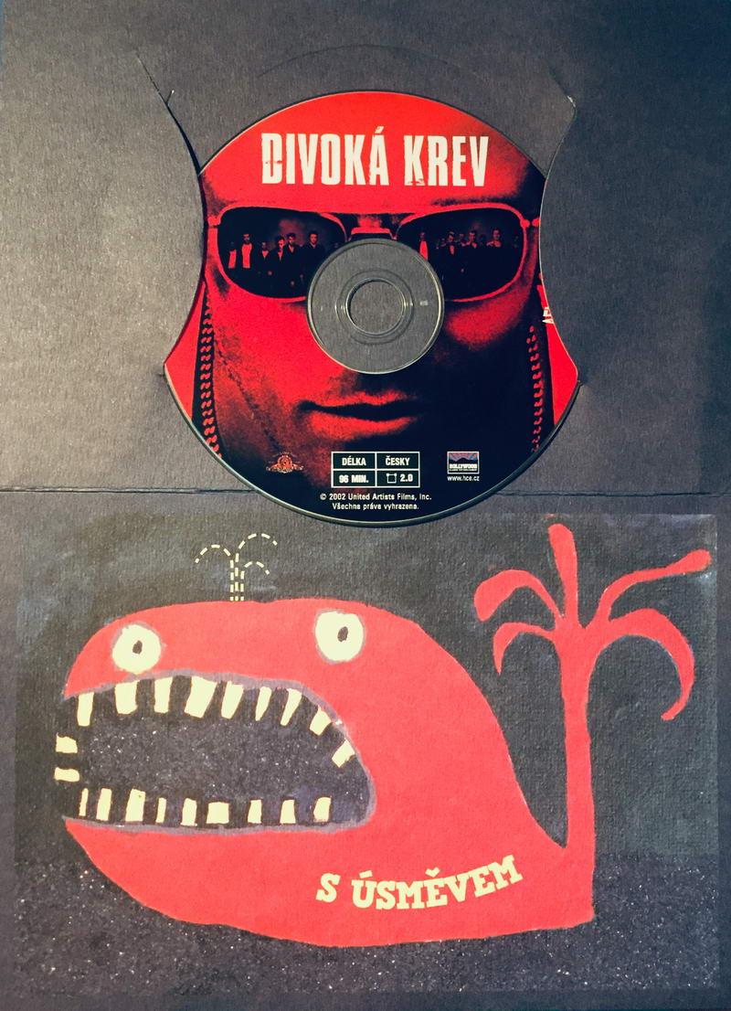 Divoká krev - DVD /dárkový obal/