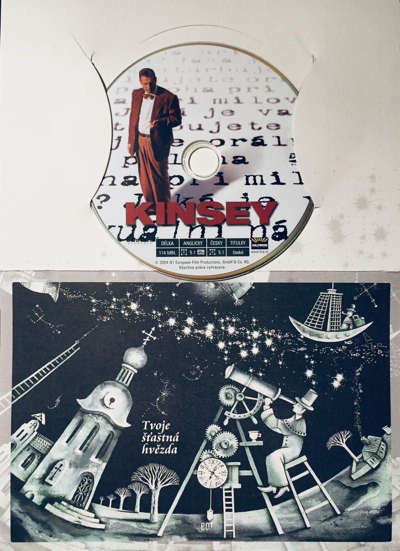 Kinsey - DVD /dárkový obal/