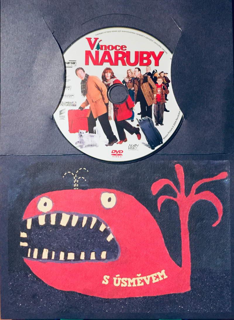 Vánoce naruby - DVD /dárkový obal/