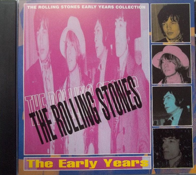 The Rolling Stones - The Early Years - CD /plast/
