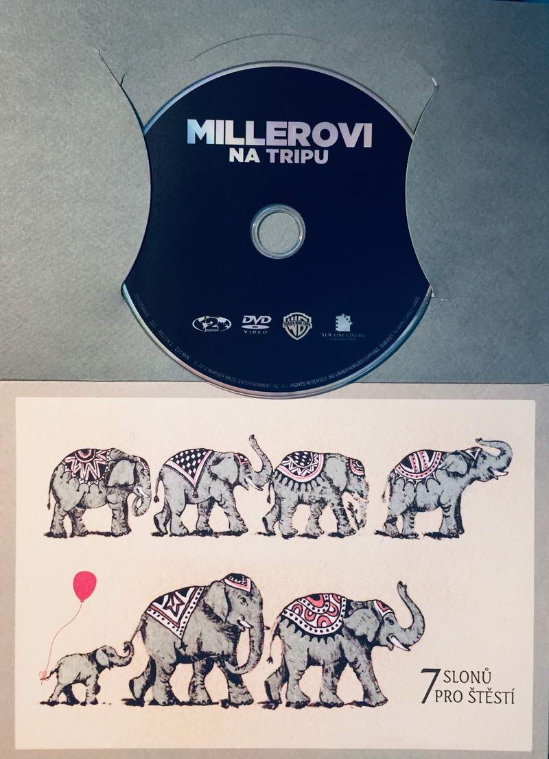 Millerovi na tripu - DVD /dárkový obal/