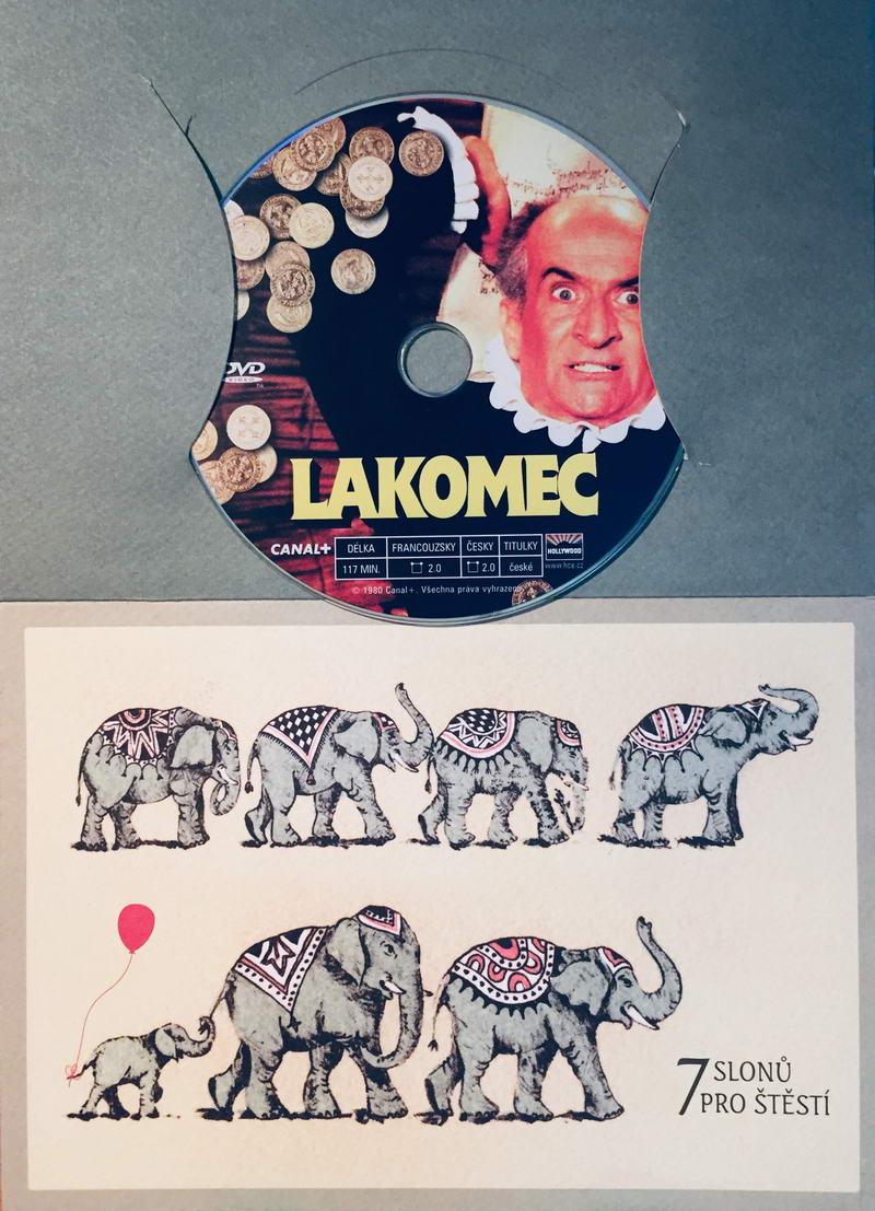 Lakomec - DVD /dárkový obal/