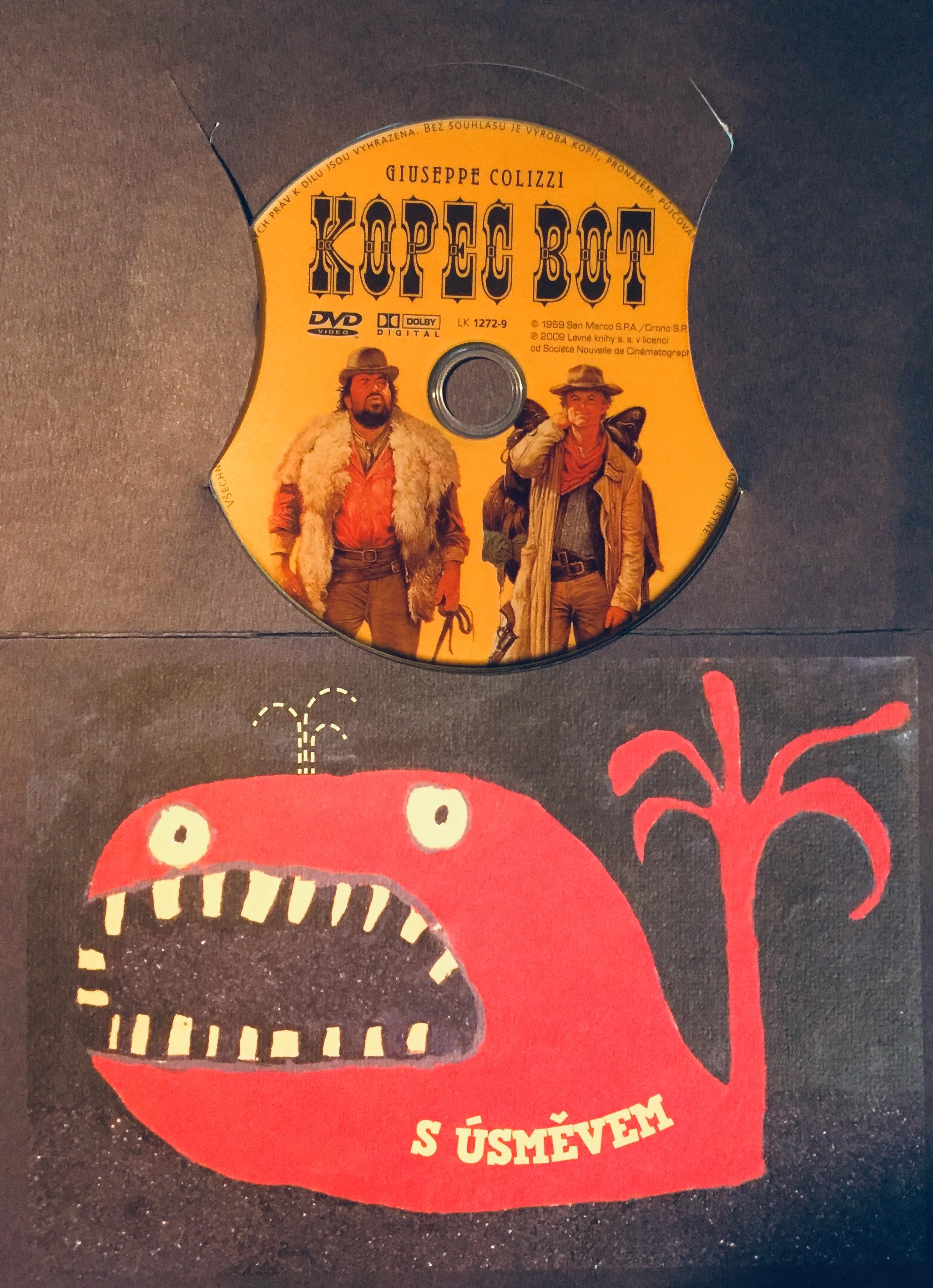 Kopec bot - DVD /dárkový obal/