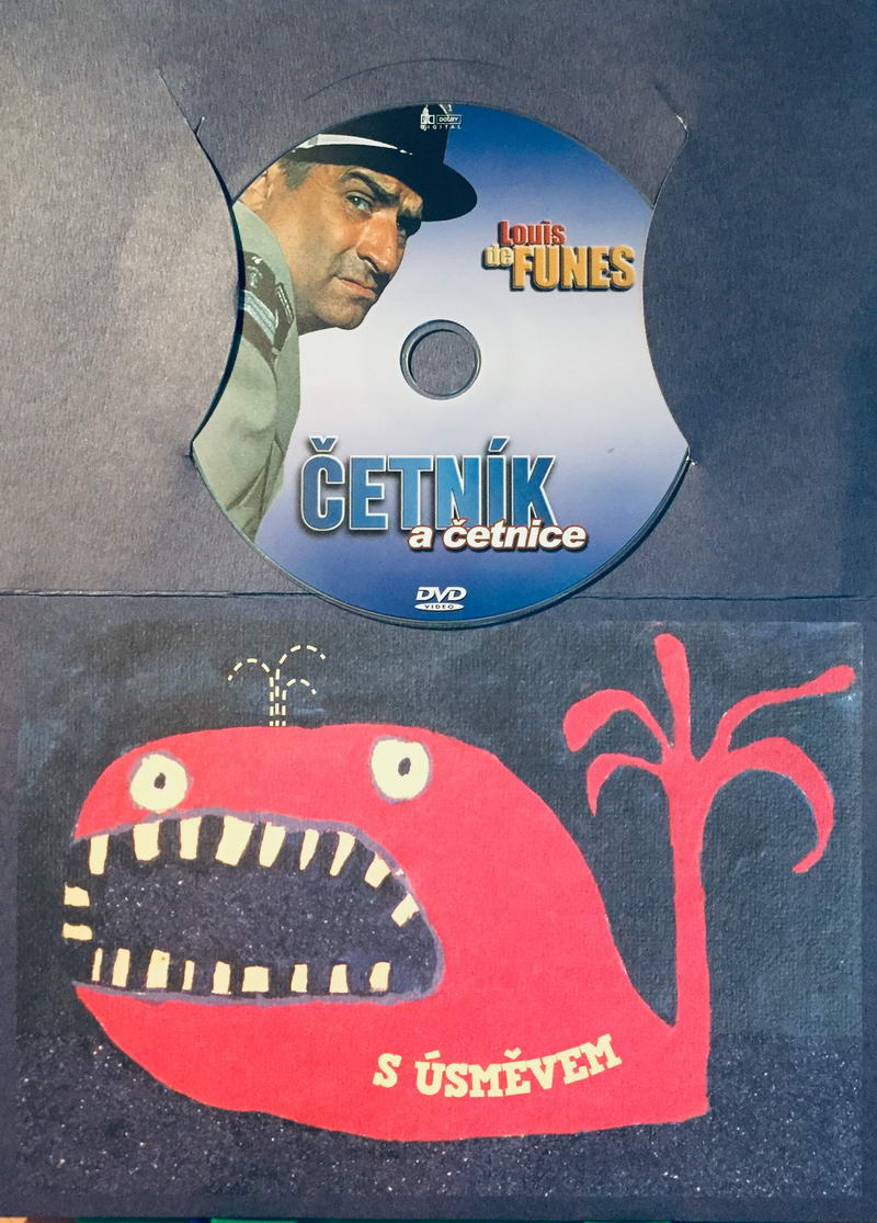 Četník a četnice - DVD /dárkový obal/