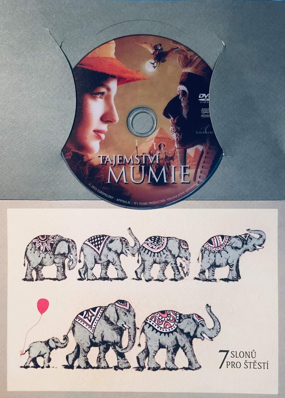 Tajemství mumie - DVD /dárkový obal/