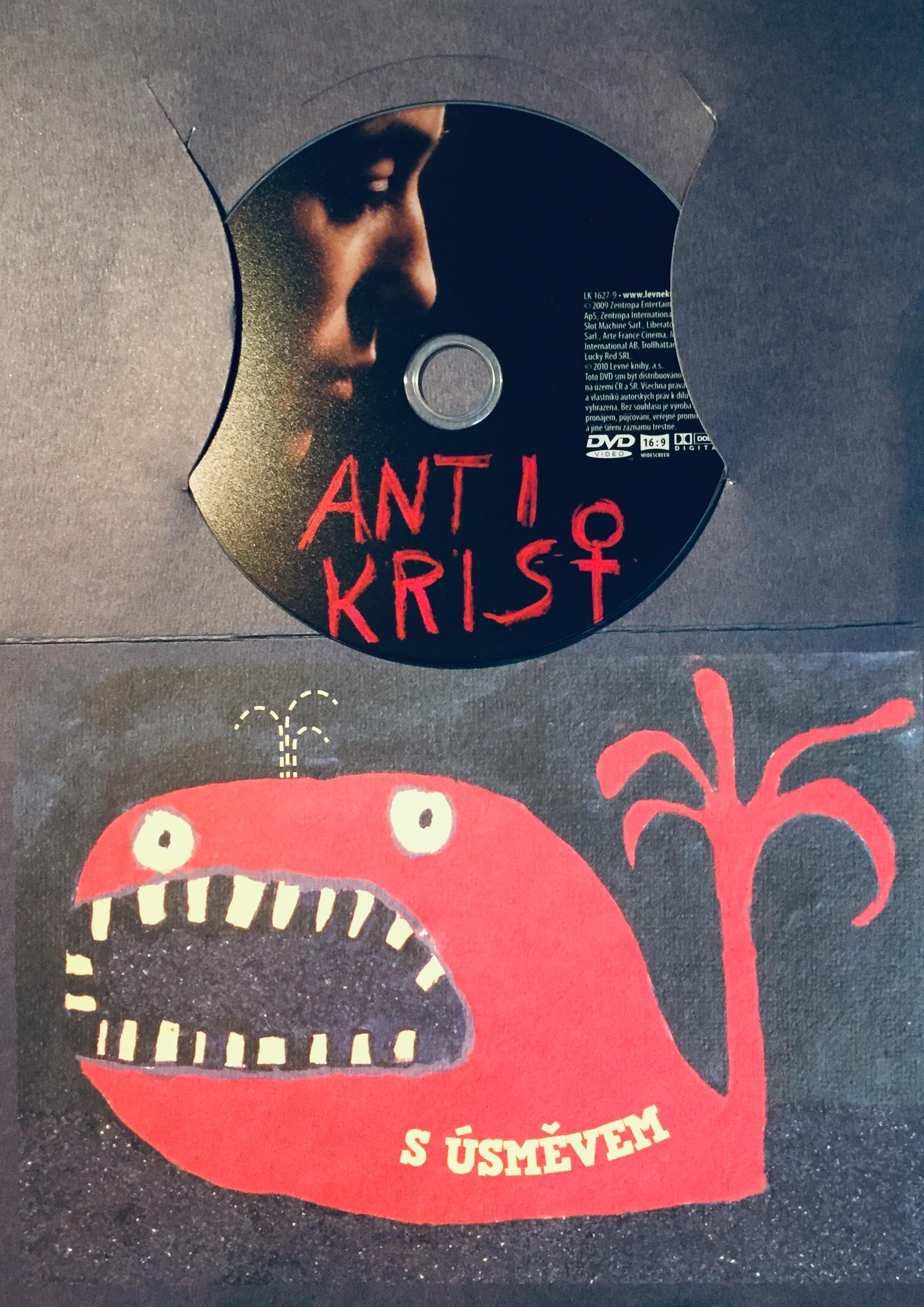 Antikrist - DVD /dárkový obal/