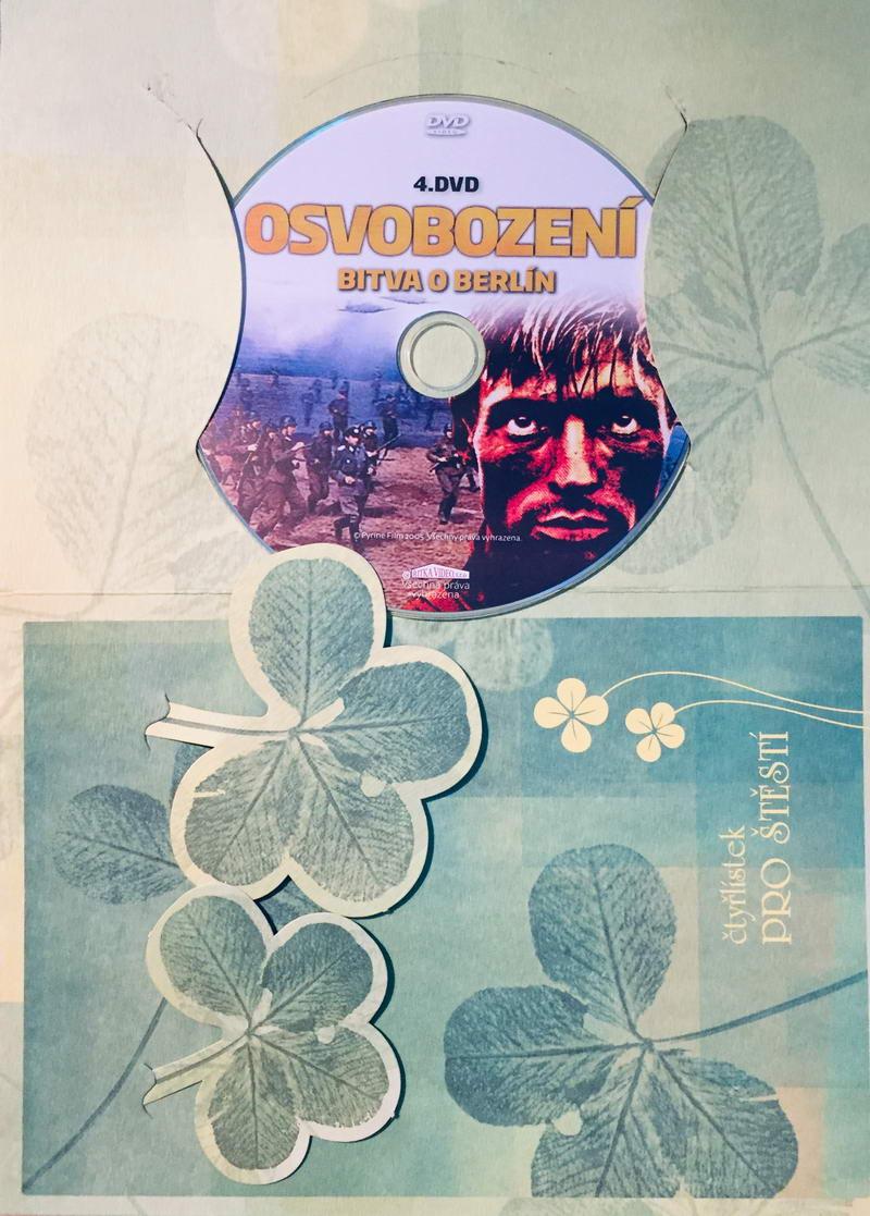 Osvobození 4 - Bitva o Berlín - DVD /dárkový obal/