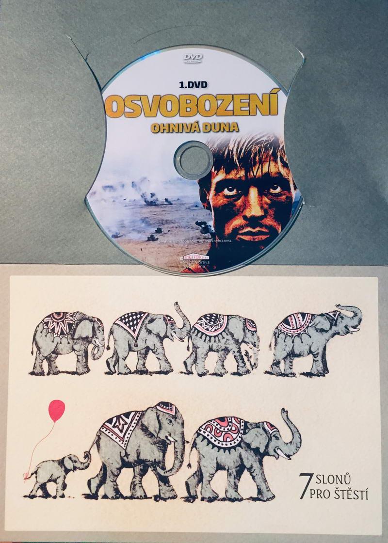 Osvobození 1 - Ohnivá duna - DVD /dárkový obal/