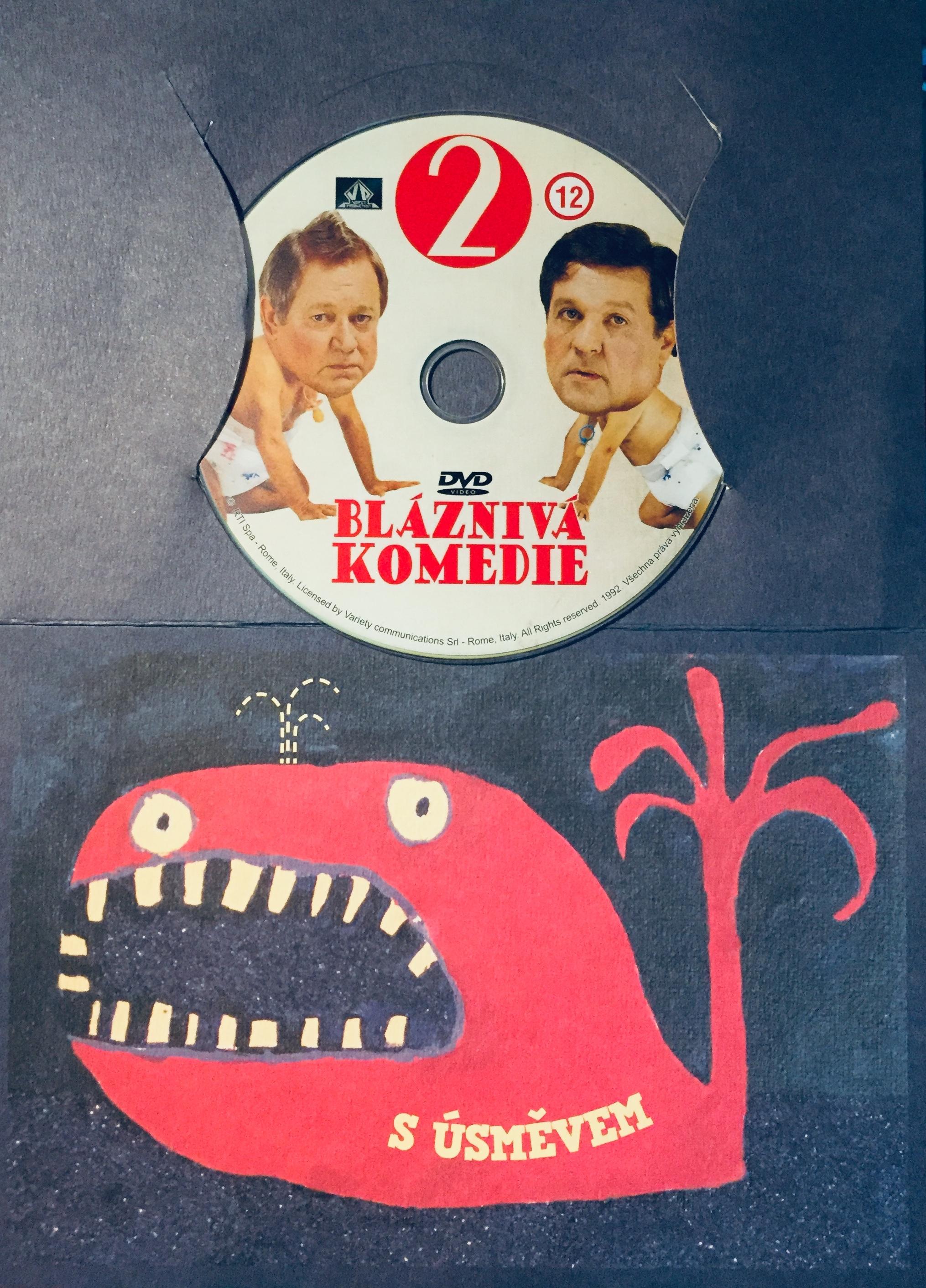 Bláznivá komedie 2 - DVD /dárkový obal/