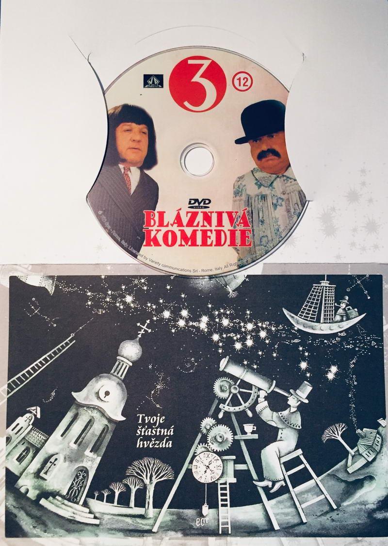 Bláznivá komedie 3 - DVD /dárkový obal/