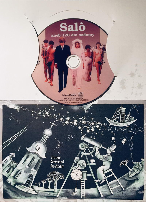 Saló aneb 120 dní sodomy - DVD /dárkový obal/