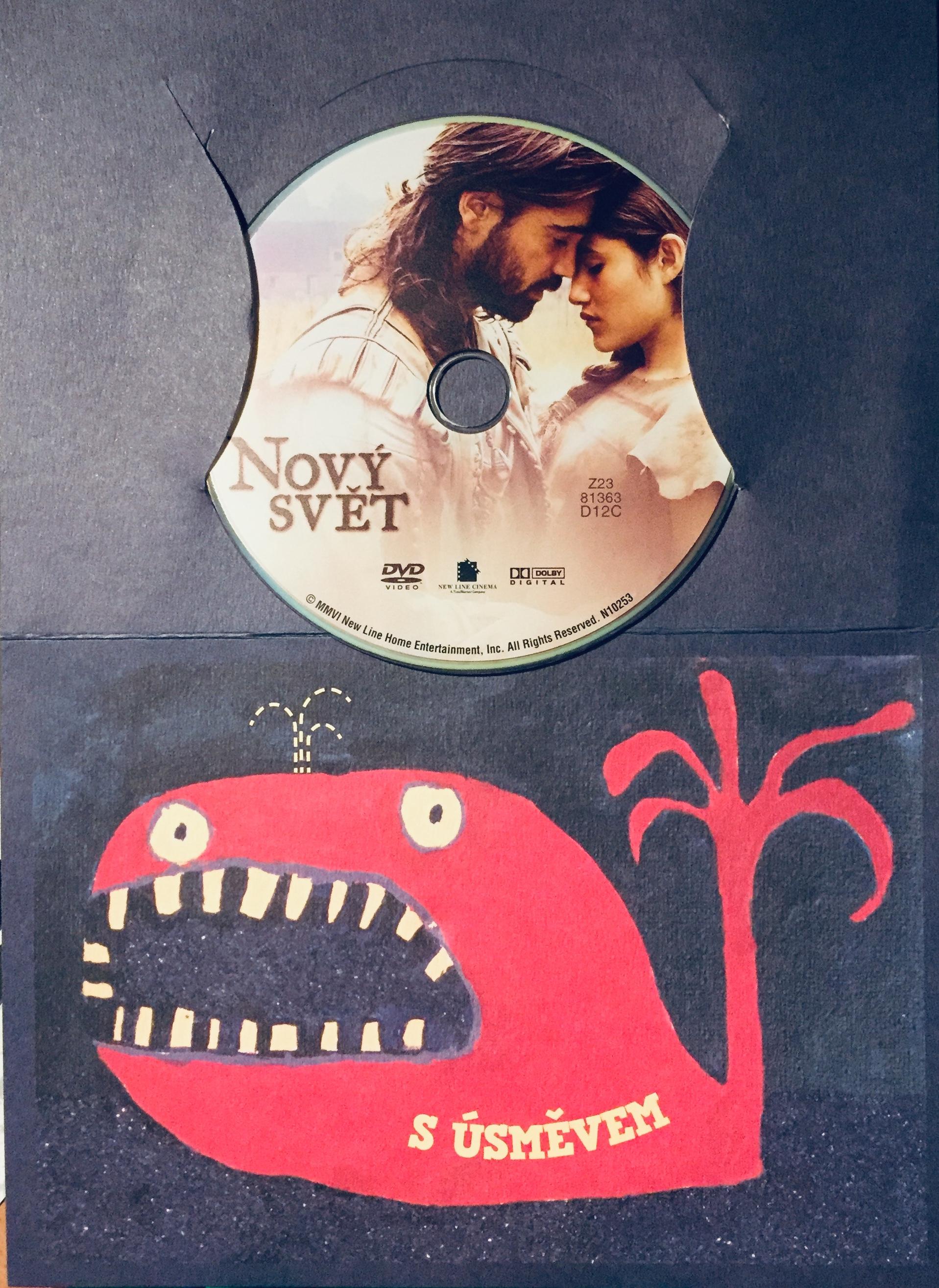 Nový svět - DVD /dárkový obal/