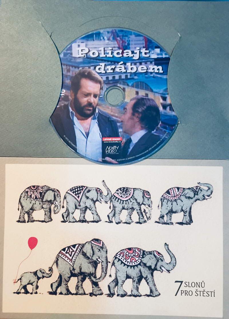 Policajt drábem - DVD /dárkový obal/