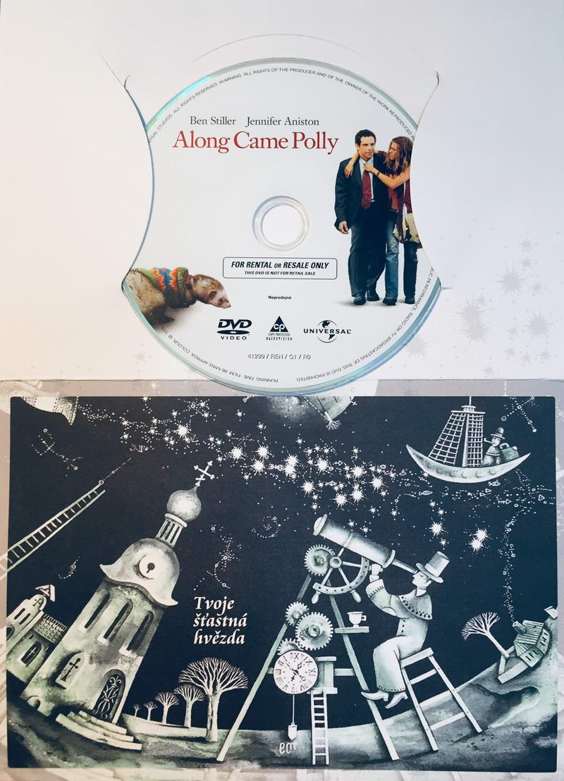 Along came Polly / Riskni to s Polly - DVD /dárkový obal/