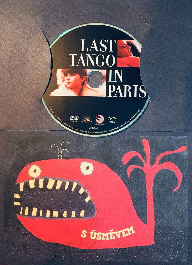 Last tango in Paris / Poslední tango v Paříži - DVD /dárkový obal/