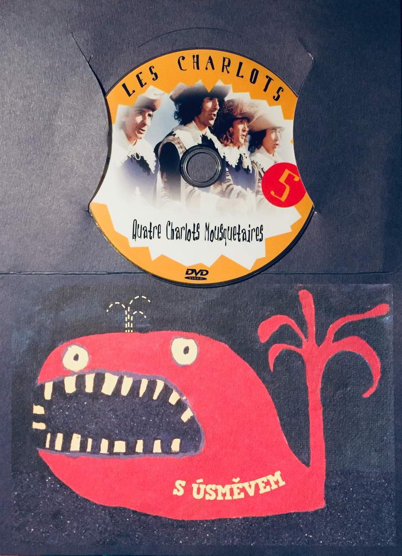 Les Charlots 5 / Bažanti 5 - Čtyři sluhové a čtyři mušketýři - DVD /dárkový obal/