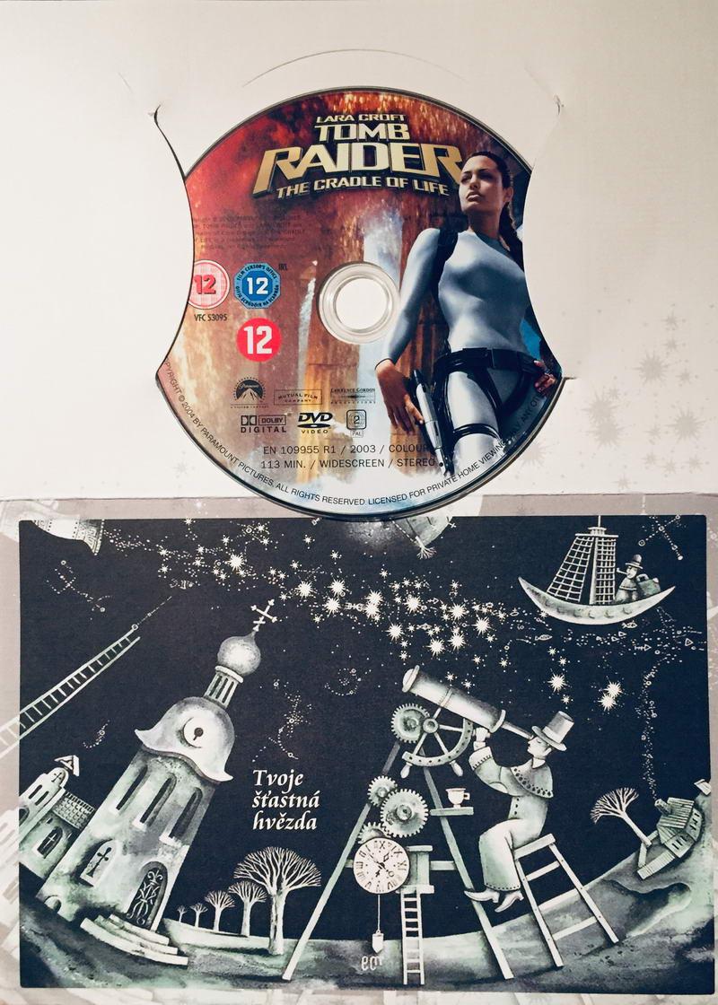 Lara Croft - Tomb Raider - The Cradle of Life / Lara Croft - Kolébka života - DVD /dárkový obal/