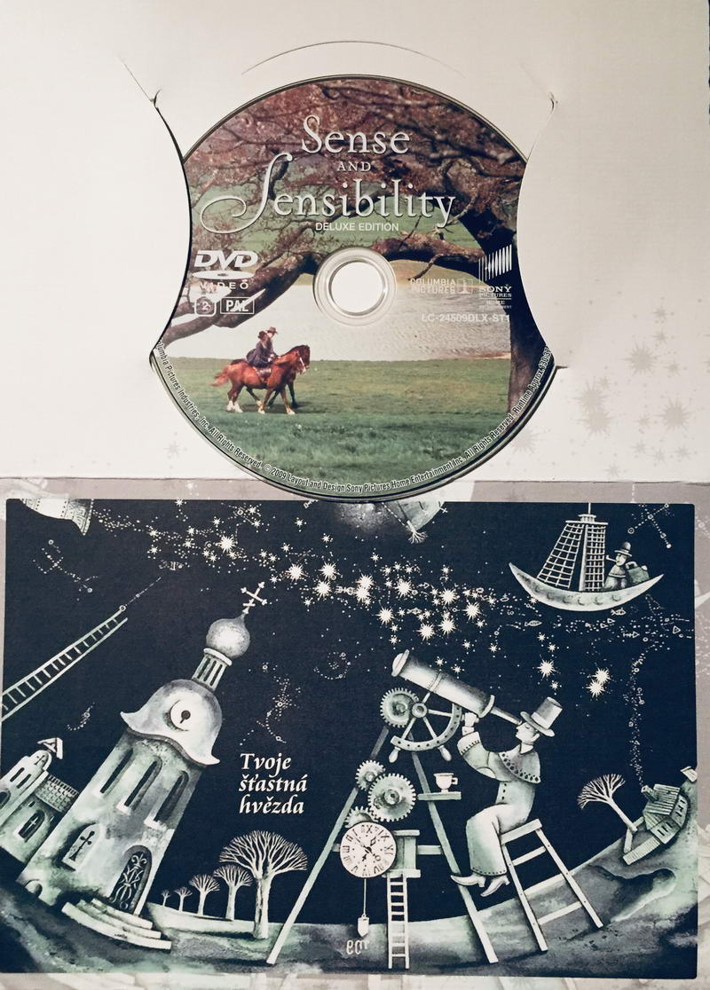 Sense and Sensibility / Rozum a cit - DVD /dárkový obal/