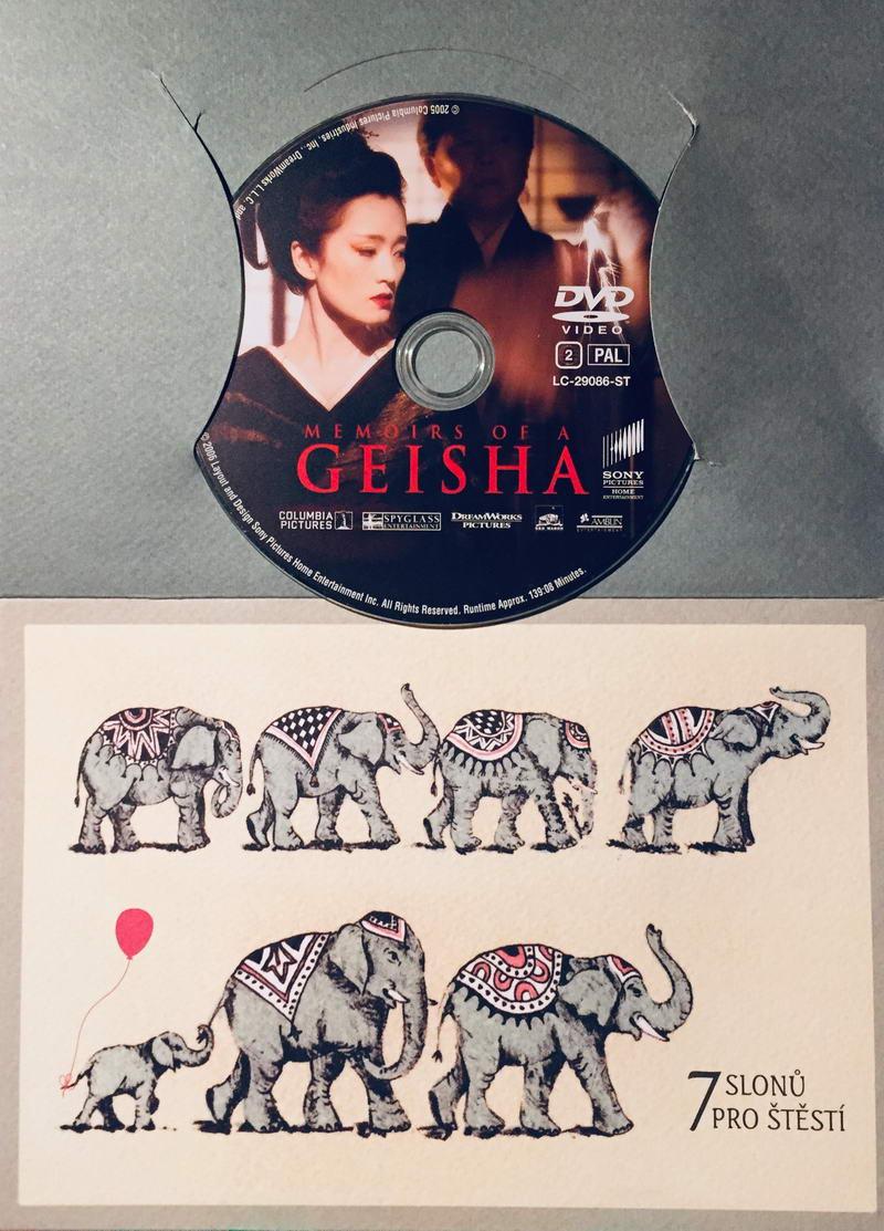 Memoirs of a Geisha / Gejša - DVD /dárkový obal/
