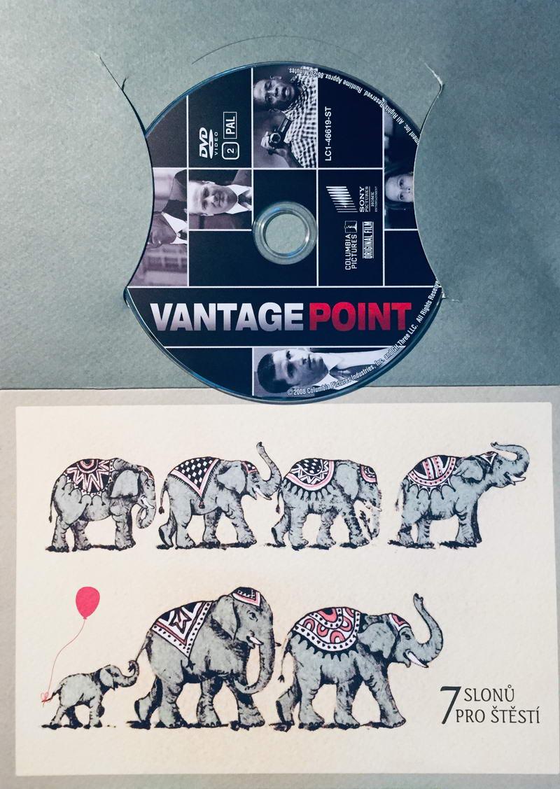 Vantage Point / Úhel pohledu - DVD /dárkový obal/
